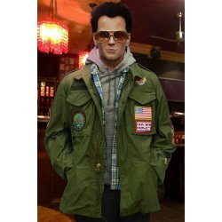 True Romance Christian Slater Movie Green Jacket