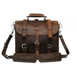 Crazy Horse Leather Bag Handmade