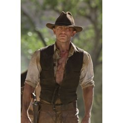 Daniels Craig Cowboys and aliens brown leather vest