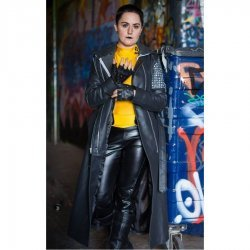 Deadpool Ellie Phimister Trench Coat