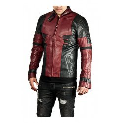 DeadPool Leather Jacket for men