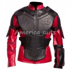 Deadshot Suicide Squad Leather Jacket