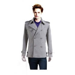 Edward Cullen Twilight Saga Movie Leather Jacket
