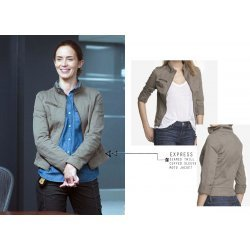 Emily Blunt Sicario Movie Jacket