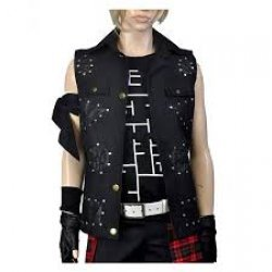 Final Fantasy Xv prompto Argentum Leather Vest