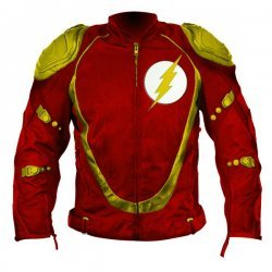 Flash Biker Leather Jacket