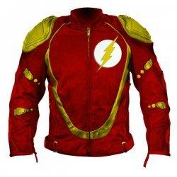 Flash Biker Leather Jacket