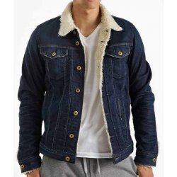 Friday The 13th Denim Jacket With Fur