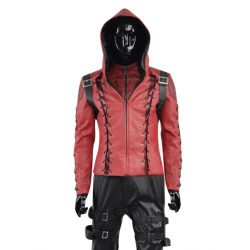 Green arrow Season 3 Roy Harper Leather Costume