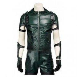 Green arrow Stephen amell Hoodie Costume with Pants