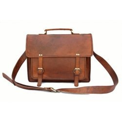 Handmade Antique Leather Laptop Bag