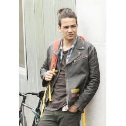 Here And Now Daniel Zovatto Leather Jacket