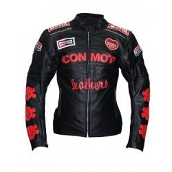 IconMoto Moter bike Leather jacket With Armour