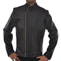 Iron Man Classic Black Leather Jacket