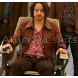 James Mcavoy Cool 70's X-men Days Of Future Past Leather Jacket