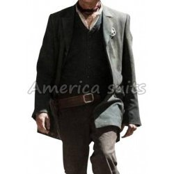 John Reid The Lone Ranger Black Coat