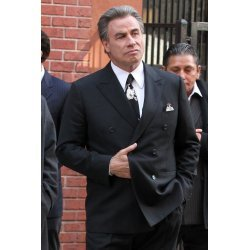 John Travolta Movie Gotti Black Suit