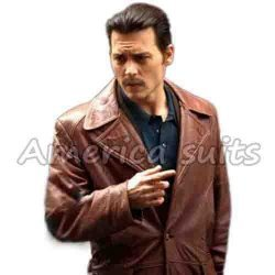 Donnie Brasco Johnny depp leather jacket