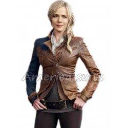 Julie Benz Defiance Leather Jacket