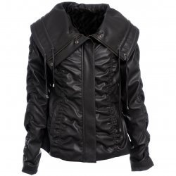 Ladies excelled Black Leather jacket On Sale