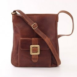 Leather Handbag Pocket Messanger Cross Body For Women