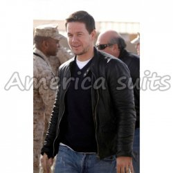 Broken City Mark Wahlberg Leather Jacket