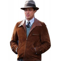 Max Vatan Brad Pitt Allied Movie Jacket
