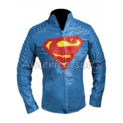 Men Of Steel Clark Kent Superman Leather Jacket