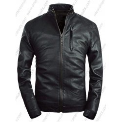 Men Stand Collar Classic Jacket