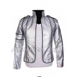 Michael Jackson Heal The World Concert Silver Jacket