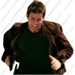Mission Impossible 3 Suede Tom Cruise Jacket
