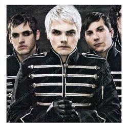My Chemical Romance Black Parade Cotton Jacket