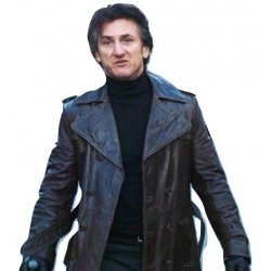 Mystic River Sean Penn Leather Coat