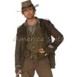 Nim's Island Gerard Butler Leather Jacket