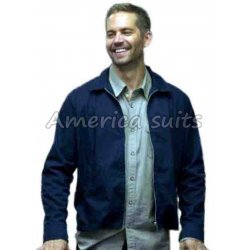 Paul Walker Fast And Furious Blue Cotton Jacket