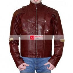 Peter Quill Red Leather Jacket