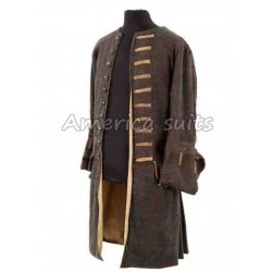 Pirates Of The Caribbean Captain Jack Sparrow Coat