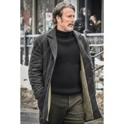Polar Mads Mikkelsen Wool Coat