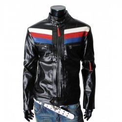 Rider Slim fit Mens Casual Black Jacket
