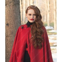 Riverdale Cheryl Blossom Red Wool Coat