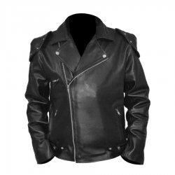 Rockatansky Mad Max Black Leather Jacket