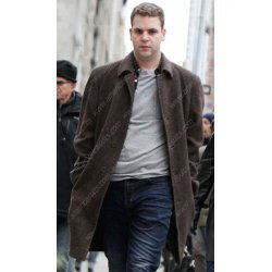 Second Act Alan Aisenberg Brown Wool Coat
