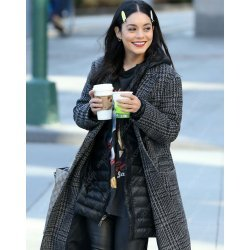 Second Act Vanessa Hudgens Wool Coat