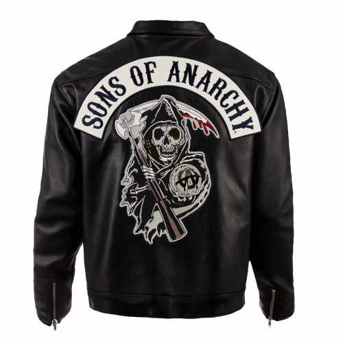Sons Of Anarchy Black Leather Jacket