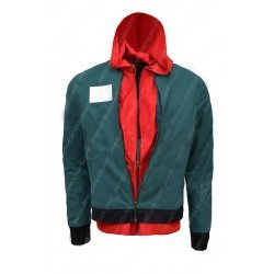 Spider Man Into The Spider Verse Green Jacket