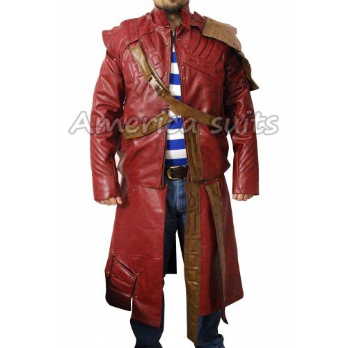 Starlord Guardians Of The Galaxy Peter Quill Coat