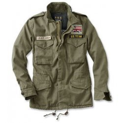 Steve McQueen Military Style Fatigue Jacket