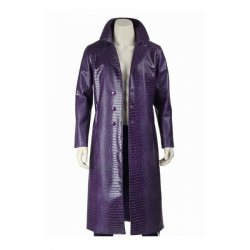 Suicide Squad Jared Leto Joker Purple Coat