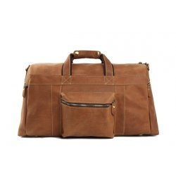 Super Large Leather Duffle Bag