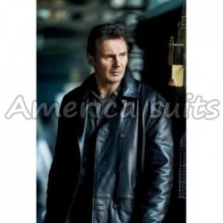 Taken 2 Liam Nesson Celebrity Leather Jacket In Black